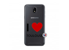 Coque Samsung Galaxy J5 2017 I Love Toulouse