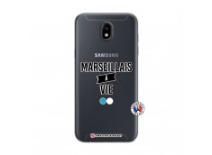 Coque Samsung Galaxy J5 2017 Marseillais à Vie