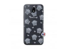 Coque Samsung Galaxy J5 2017 Petits Elephants