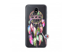 Coque Samsung Galaxy J5 2017 Pink Painted Dreamcatcher