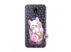 Coque Samsung Galaxy J5 2017 Smoothie Cat