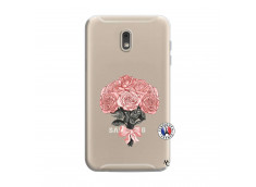 Coque Samsung Galaxy J6 2018 Bouquet de Roses