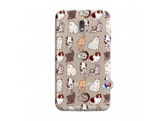 Coque Samsung Galaxy J6 2018 Cat Pattern