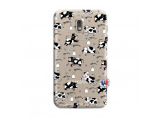 Coque Samsung Galaxy J6 2018 Cow Pattern