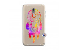 Coque Samsung Galaxy J6 2018 Dreamcatcher Rainbow Feathers