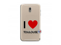 Coque Samsung Galaxy J6 2018 I Love Toulouse