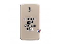 Coque Samsung Galaxy J6 2018 Je Dribble Comme Cristiano