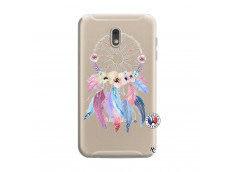 Coque Samsung Galaxy J6 2018 Multicolor Watercolor Floral Dreamcatcher