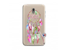 Coque Samsung Galaxy J6 2018 Pink Painted Dreamcatcher