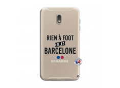 Coque Samsung Galaxy J6 2018 Rien A Foot Allez Barcelone