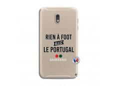 Coque Samsung Galaxy J6 2018 Rien A Foot Allez Le Portugal
