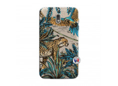 Coque Samsung Galaxy J6 2018 Leopard Jungle