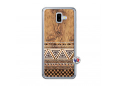 Coque Samsung Galaxy J6 Plus Aztec Deco Translu