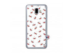Coque Samsung Galaxy J6 Plus Cartoon Heart Translu