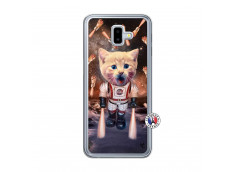 Coque Samsung Galaxy J6 Plus Cat Nasa Translu