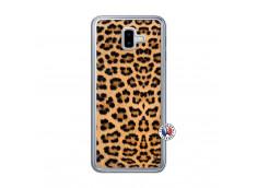 Coque Samsung Galaxy J6 Plus Leopard Style Translu