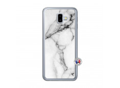 Coque Samsung Galaxy J6 Plus White Marble Translu
