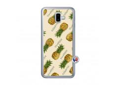 Coque Samsung Galaxy J6 Plus Sorbet Ananas Translu