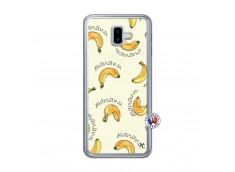 Coque Samsung Galaxy J6 Plus Sorbet Banana Split Translu