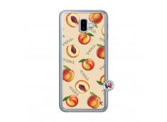 Coque Samsung Galaxy J6 Plus Sorbet Pêche Translu