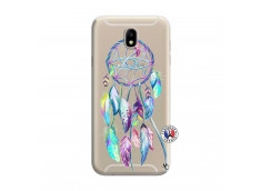 Coque Samsung Galaxy J7 2015 Blue Painted Dreamcatcher