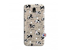Coque Samsung Galaxy J7 2015 Cow Pattern