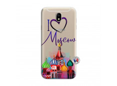 Coque Samsung Galaxy J7 2015 I Love Moscow