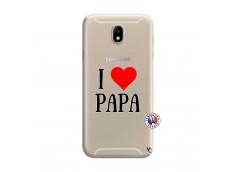 Coque Samsung Galaxy J7 2015 I Love Papa