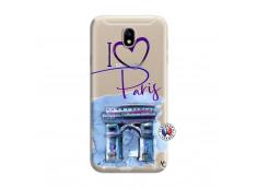 Coque Samsung Galaxy J7 2015 I Love Paris, i love Arc de Triomphe