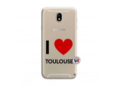 Coque Samsung Galaxy J7 2015 I Love Toulouse
