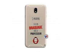 Coque Samsung Galaxy J7 2015 J Peux Pas J Ai Un Braquage Avec Le Professeur