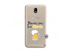 Coque Samsung Galaxy J7 2015 Jamais Sans Ma Blonde
