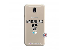 Coque Samsung Galaxy J7 2015 Marseillais à Vie