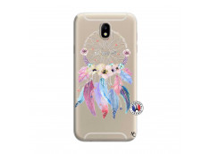 Coque Samsung Galaxy J7 2015 Multicolor Watercolor Floral Dreamcatcher