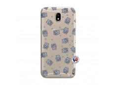 Coque Samsung Galaxy J7 2015 Petits Hippos