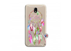 Coque Samsung Galaxy J7 2015 Pink Painted Dreamcatcher