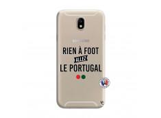 Coque Samsung Galaxy J7 2015 Rien A Foot Allez Le Portugal