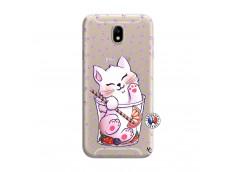 Coque Samsung Galaxy J7 2015 Smoothie Cat