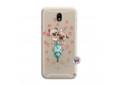 Coque Samsung Galaxy J7 2015 Puppies Love