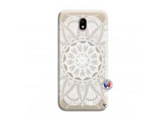Coque Samsung Galaxy J7 2015 White Mandala