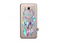Coque Samsung Galaxy J7 2016 Blue Painted Dreamcatcher