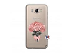 Coque Samsung Galaxy J7 2016 Bouquet de Roses