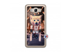 Coque Samsung Galaxy J7 2016 Cat Nasa Translu
