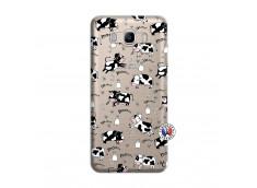Coque Samsung Galaxy J7 2016 Cow Pattern