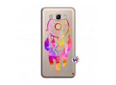 Coque Samsung Galaxy J7 2016 Dreamcatcher Rainbow Feathers