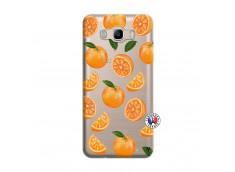 Coque Samsung Galaxy J7 2016 Orange Gina
