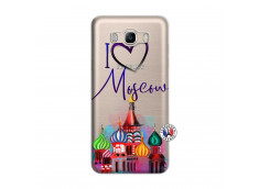Coque Samsung Galaxy J7 2016 I Love Moscow