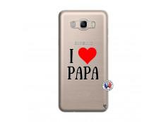 Coque Samsung Galaxy J7 2016 I Love Papa