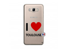 Coque Samsung Galaxy J7 2016 I Love Toulouse