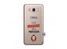 Coque Samsung Galaxy J7 2016 J Peux Pas J Ai Un Braquage Avec Le Professeur